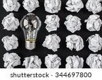 light bulb | Shutterstock . vector #344697800