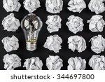 light bulb | Shutterstock . vector #344697800