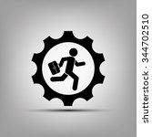 man in gear | Shutterstock .eps vector #344702510
