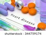 heart disease   diagnosis...   Shutterstock . vector #344759174