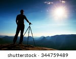 professional photographer stay  ... | Shutterstock . vector #344759489