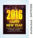 shiny creative flyer  banner or ... | Shutterstock .eps vector #344795300