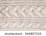 knitted wool background ... | Shutterstock . vector #344807210
