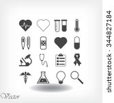 medical icons | Shutterstock .eps vector #344827184