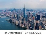 new york   august 24  views of... | Shutterstock . vector #344837228