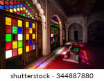Colorful Mosaic Windows And...