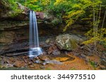 Cucumber Falls At Ohiopyle...