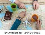 planning a trip to berlin ... | Shutterstock . vector #344994488