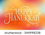 flat design style happy... | Shutterstock .eps vector #344998238