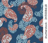 seamless pattern | Shutterstock . vector #345008618