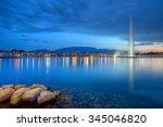 Geneva Panorama With Famous...