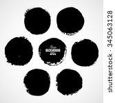 beautiful grunge design... | Shutterstock .eps vector #345063128