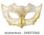 White Mask Decoration On...