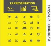 presentation  chart  diagram ... | Shutterstock .eps vector #345093368