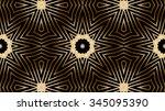 decorative gold metal background | Shutterstock . vector #345095390