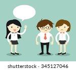 business concept  business...   Shutterstock .eps vector #345127046
