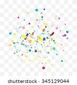 abstract background with many... | Shutterstock .eps vector #345129044