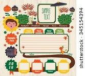 vector design element  26  | Shutterstock .eps vector #345154394