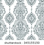 seamless indian pattern based...