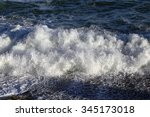 close up isolated texture storm ... | Shutterstock . vector #345173018