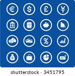 money vector iconset | Shutterstock .eps vector #3451795