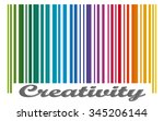 Bar Code With Colored Gradient...