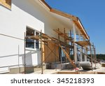 construction or repair of the... | Shutterstock . vector #345218393