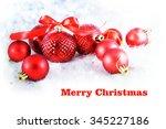 christmas background    Shutterstock . vector #345227186