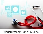 healthcare and medicine. | Shutterstock . vector #345263123