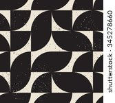abstract geometric flat shape... | Shutterstock .eps vector #345278660