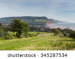 Coast Path To Sidmouth Devon...