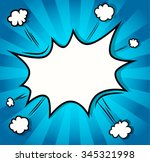 background. boom comic book... | Shutterstock .eps vector #345321998