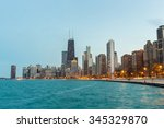 Chicago Downtown And Lake...