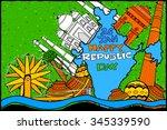 easy to edit vector... | Shutterstock .eps vector #345339590