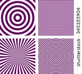 Simple Abstract Purple Striped...