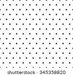 monochrome dotted  polka dot...   Shutterstock .eps vector #345358820