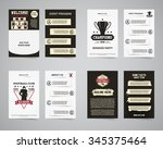 american football party flyer... | Shutterstock .eps vector #345375464