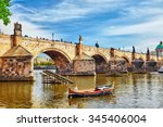 Charles Bridge From The Quay O...