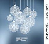 thin line flat concept... | Shutterstock .eps vector #345428090