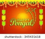 vector illustration of happy... | Shutterstock .eps vector #345431618