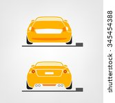 beautiful vector illustration... | Shutterstock .eps vector #345454388