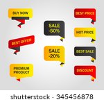Vector Stickers  Price Tag ...