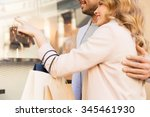 sale  consumerism and people... | Shutterstock . vector #345461930