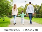 family  parenthood  adoption... | Shutterstock . vector #345461948