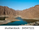 hatta lake   Shutterstock . vector #34547221