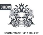 gorgon | Shutterstock .eps vector #345483149