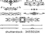 vector design elements | Shutterstock .eps vector #34550104