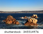 point lobos near big sur ... | Shutterstock . vector #345514976