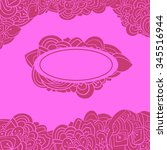 pink card | Shutterstock .eps vector #345516944