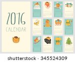 Calendar For 2016 With A...